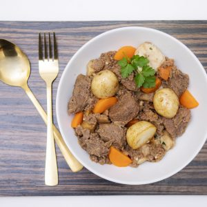 Venison cooked in red wine sauce 450g (Dairy free & Gluten free)