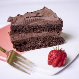 Chocolate Fudge cake 120g (vegan, dairy free)
