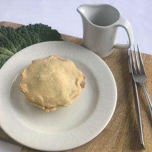 Leek & mushroom pie 200g (Vegan, Dairy free)